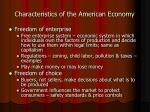 characteristics of the american economy12