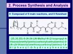 2 process synthesis and analysis