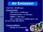 air emission
