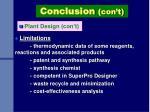 plant design con t
