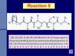reaction 9