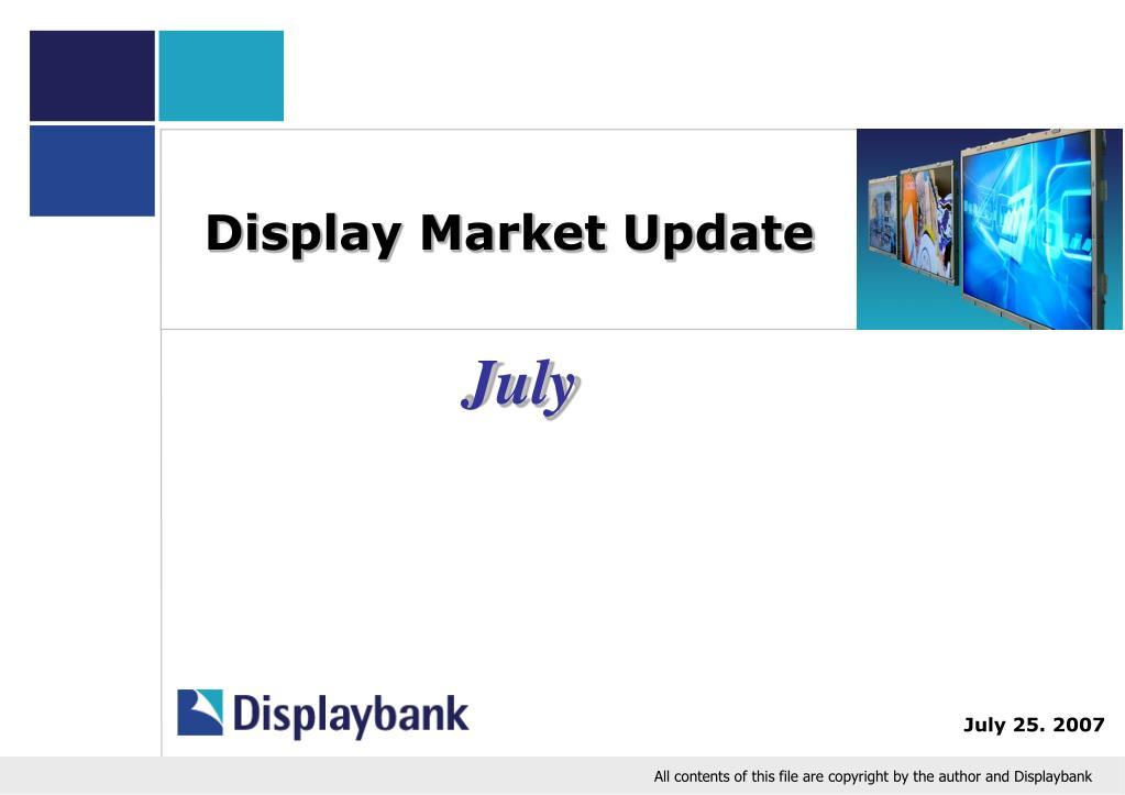 display market update l.
