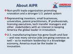 about aipr