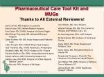 pharmaceutical care tool kit and mugs4
