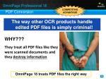 pdf conversion