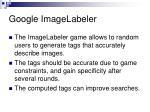 google imagelabeler
