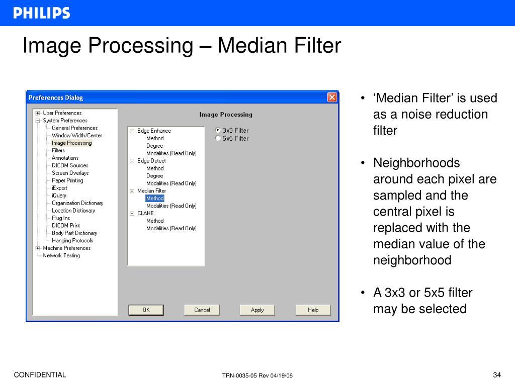 Image Processing – Median Filter