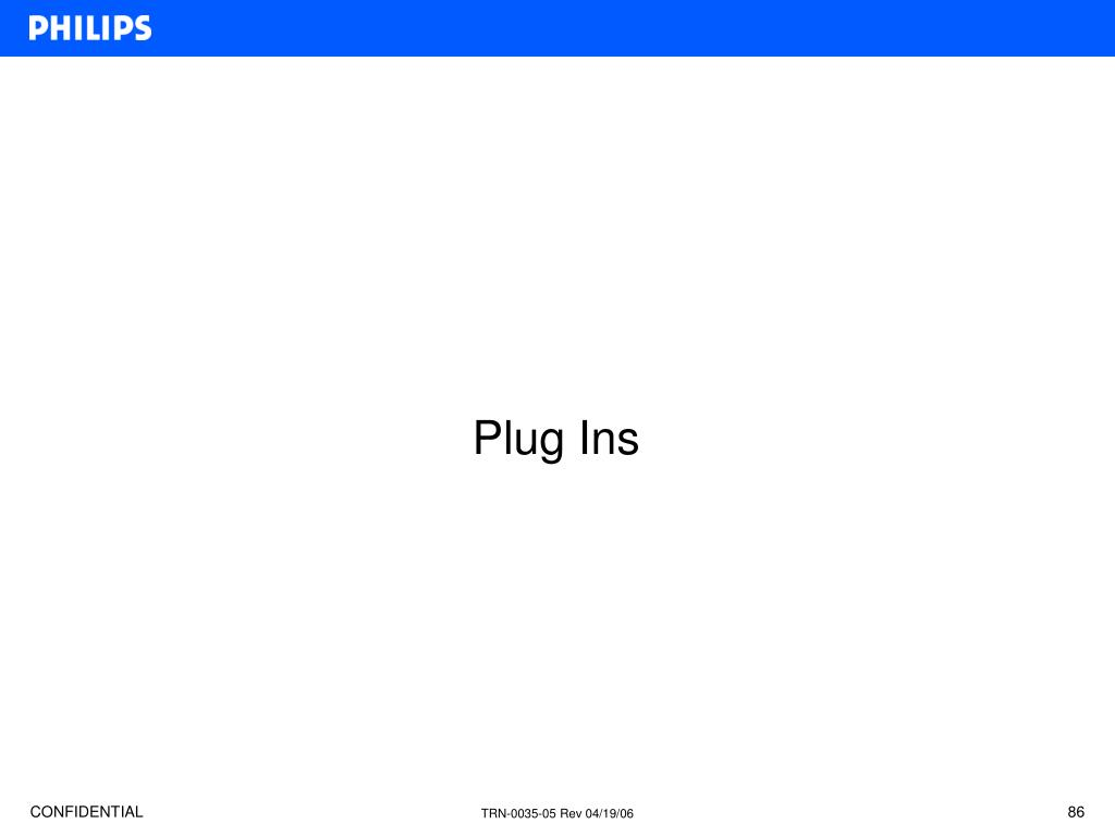 Plug Ins