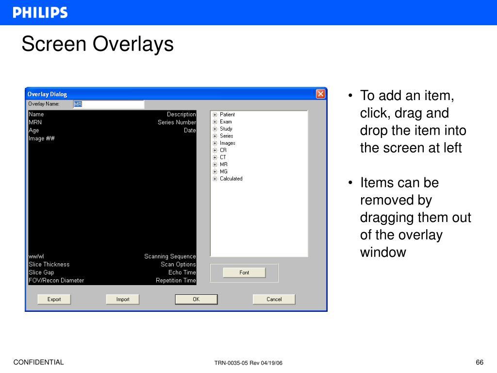 Screen Overlays