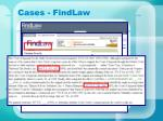 cases findlaw