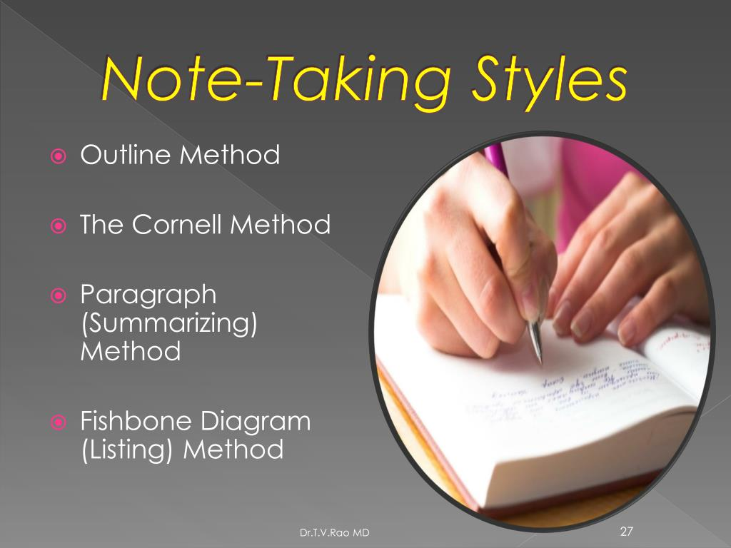 Note-Taking Styles