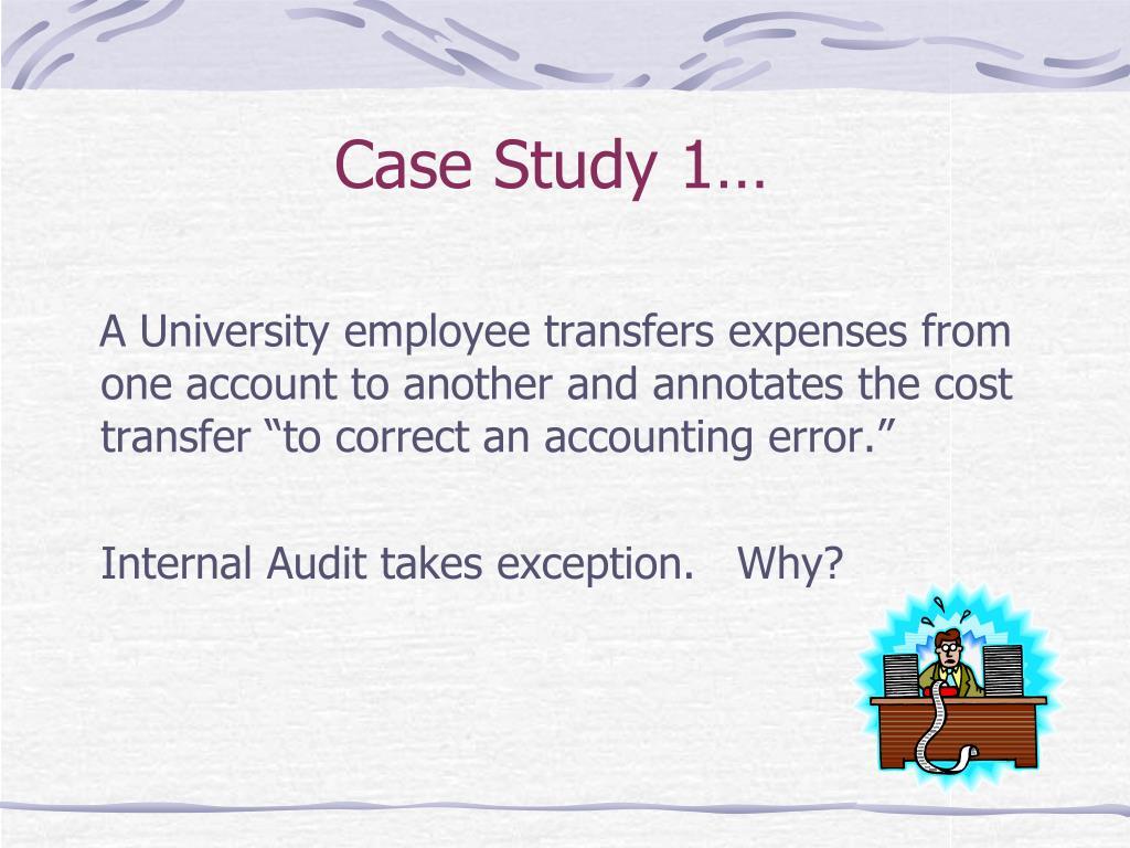 Case Study 1…