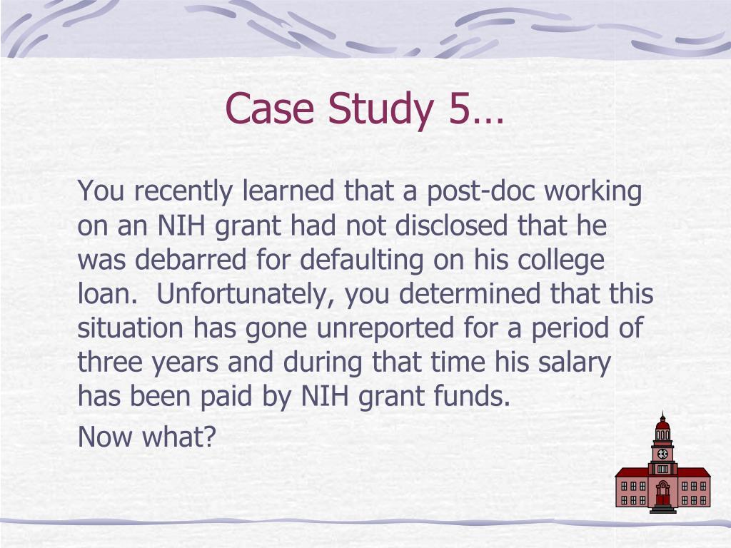 Case Study 5…