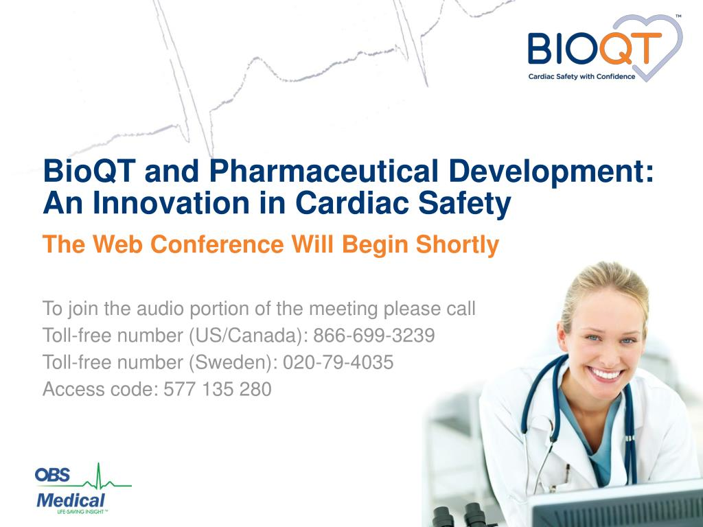 bioqt and pharmaceutical development an innovation in cardiac safety l.