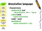annotation language17