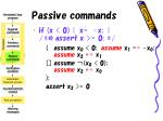 passive commands28