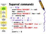 sugared commands23