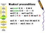weakest preconditions30