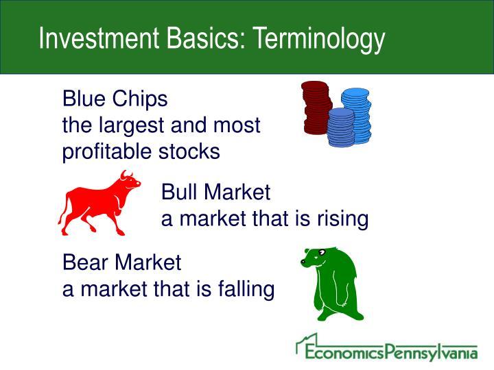 Investment Basics: Terminology