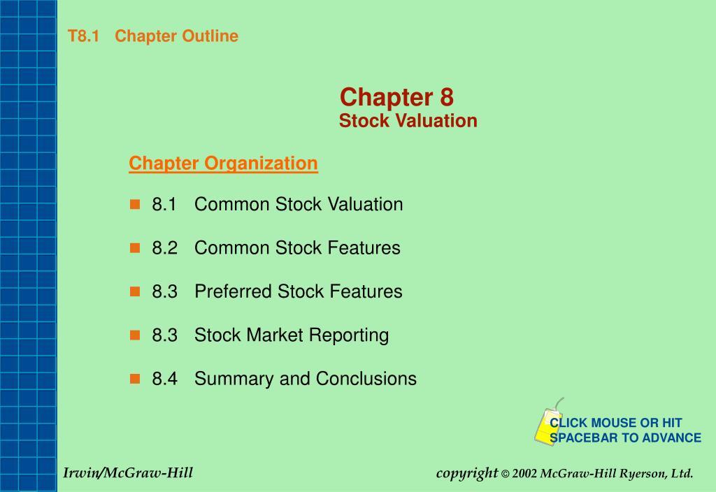 t8 1 chapter outline l.