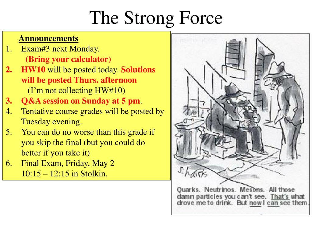 the strong force l.