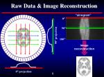 raw data image reconstruction
