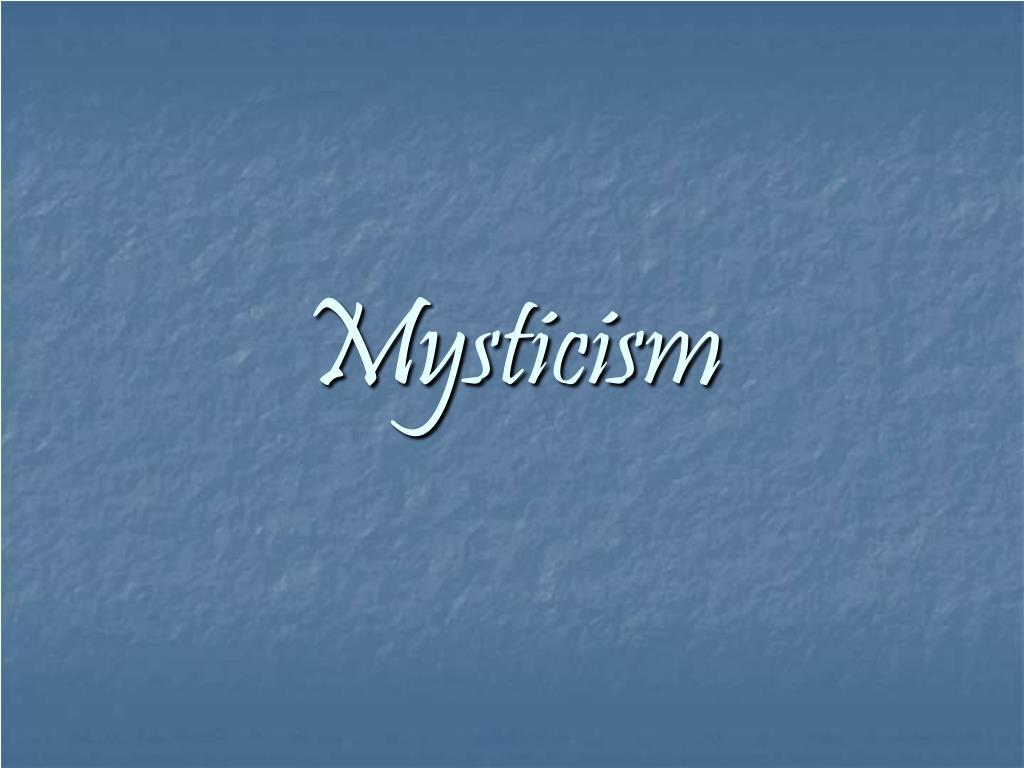 mysticism l.