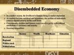 disembedded economy
