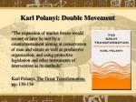 karl polanyi double movement
