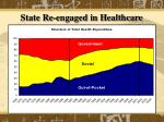 state re engaged in healthcare