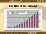 the rise of the internet