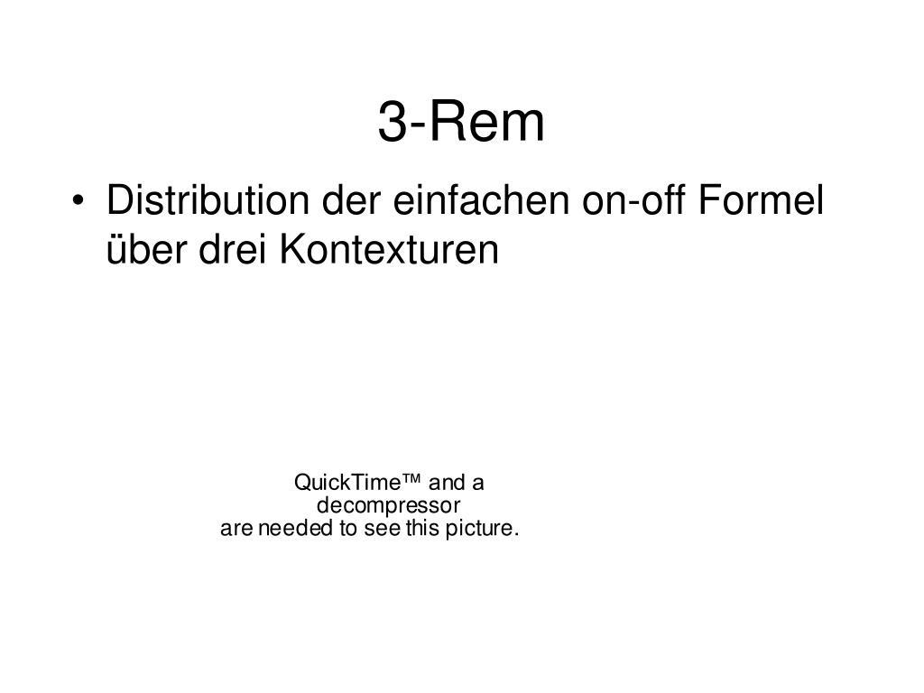 3-Rem