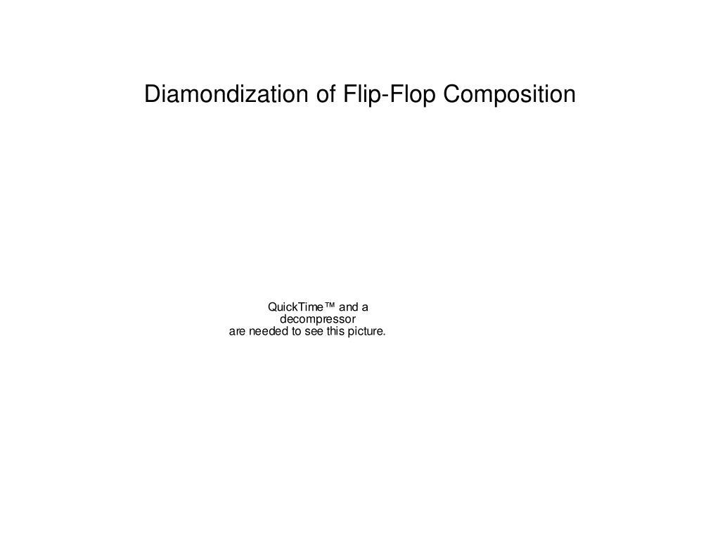 Diamondization of Flip-Flop Composition