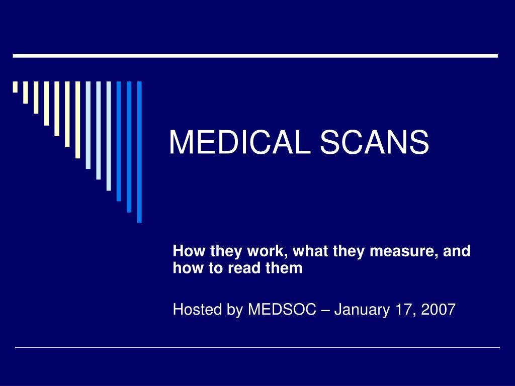 medical scans l.