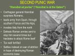 second punic war