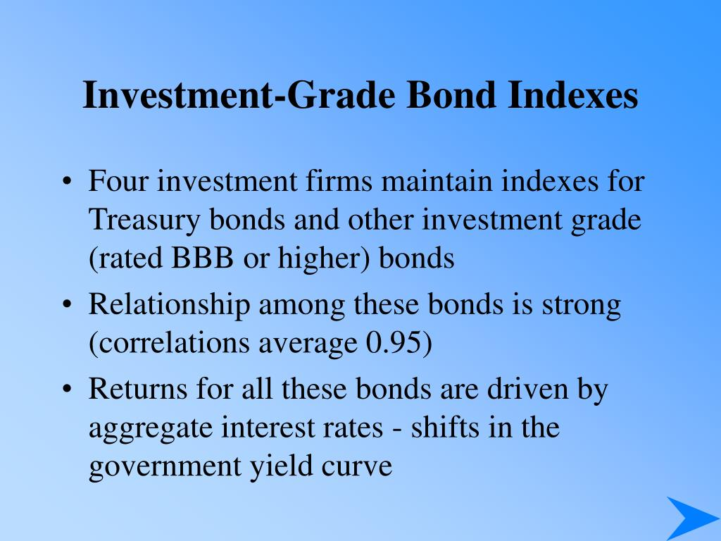 Investment-Grade Bond Indexes