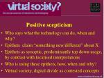 positive scepticism