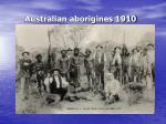 australian aborigines 1910