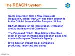 the reach system