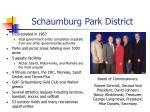 schaumburg park district