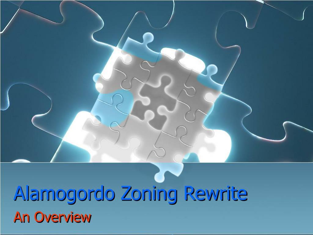 alamogordo zoning rewrite l.