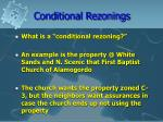 conditional rezonings