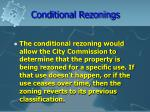 conditional rezonings23