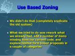 use based zoning12