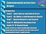 environmental protection oregon
