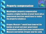 property compensation