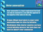 voter annexation