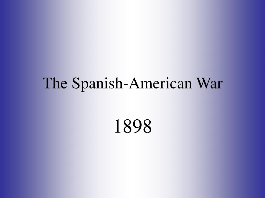 the spanish american war l.