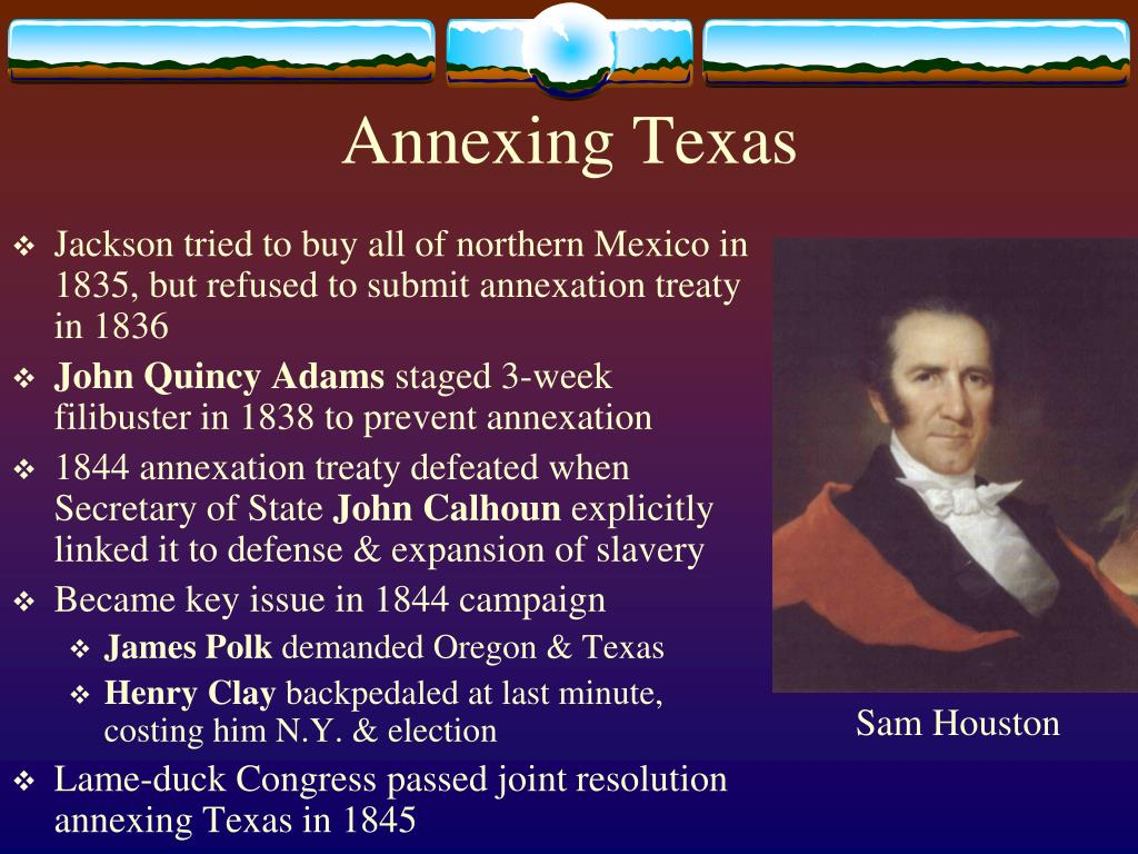 Annexing Texas