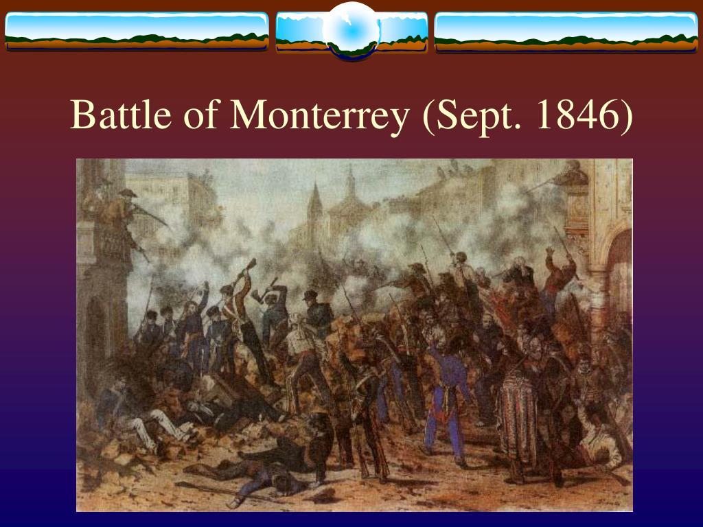 Battle of Monterrey (Sept. 1846)